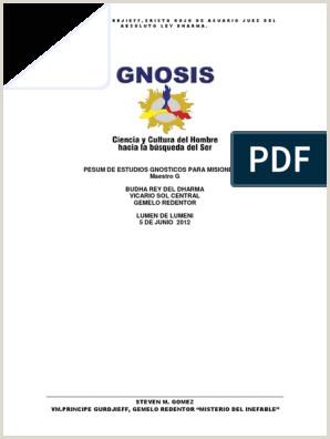 Hoja De Vida Minerva 10-00 Para Descargar Gratis Pesum De Estudios Gnosticos Para Misioneros Vm Gurdjieff[1]
