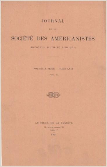 Hoja De Vida Minerva 1000 Bibliographie Américaniste Persée