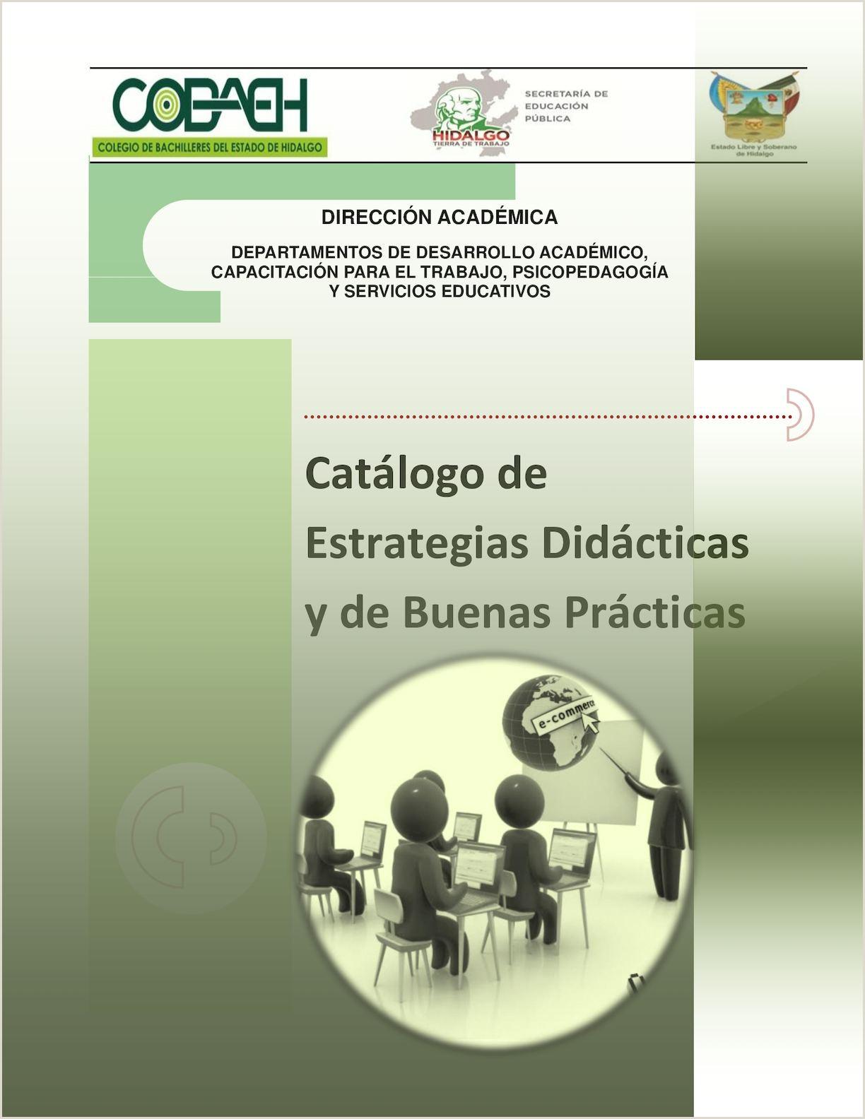Calaméo Catálogo De Estrategias Didácticas Y De Buenas