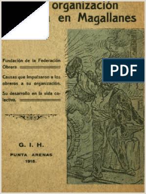 La Organizaci³n Obrera en Magallanes 1915