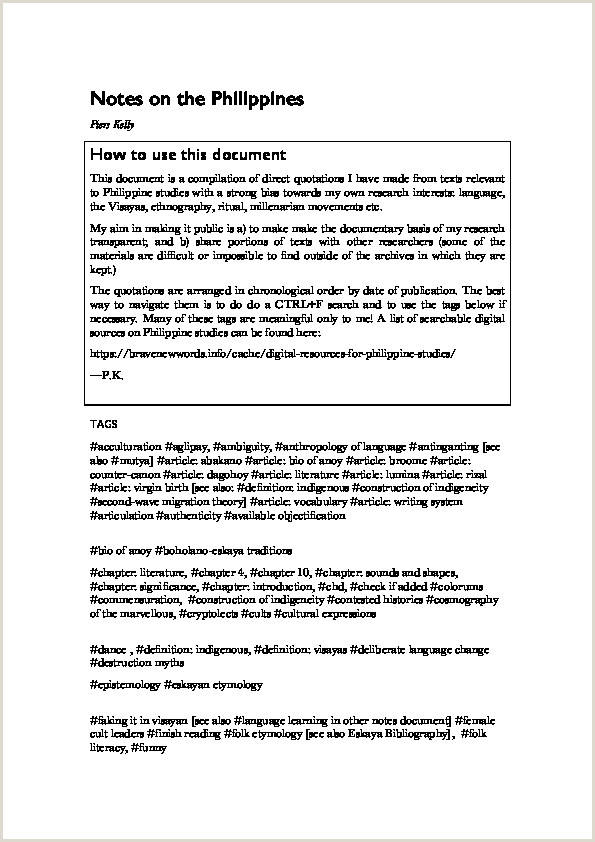 PDF 2014 Notes on the Philippines