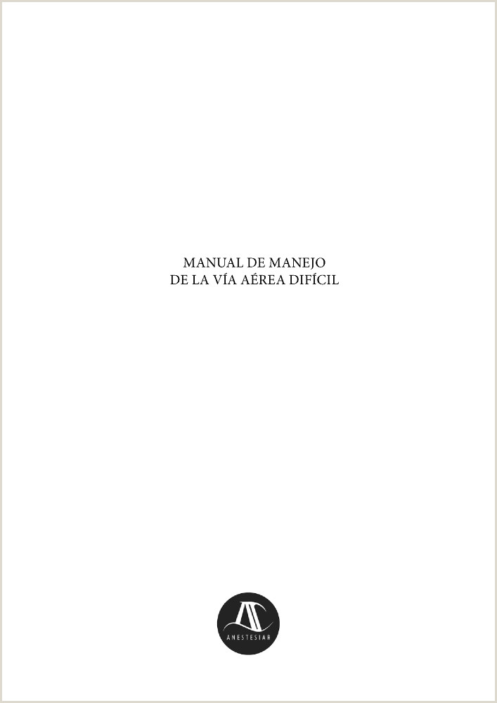 Manual de Manejo de la V­a Aérea Dif­cil authorSTREAM