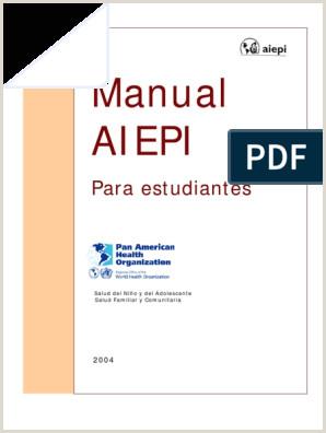 Manual AIEPI para el estudiante pdf