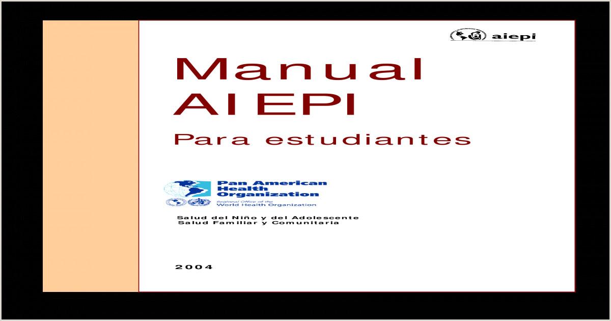 AIEPI para Estudiantes pdf