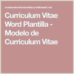 Las 8 mejores imágenes de Plantillas y modelos de curriculum