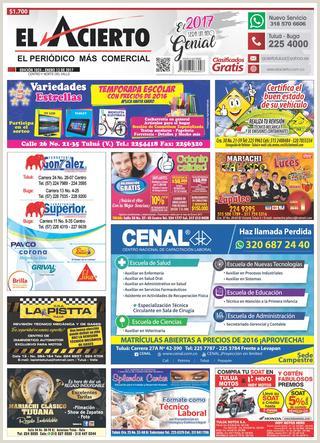 Tulua 1024 13 de enero 2017 by El Acierto issuu