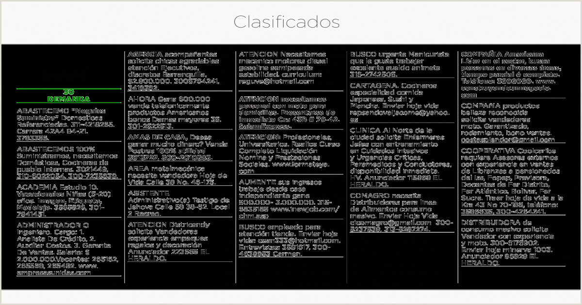 Clasificados 13 de Junio [PDF Document]