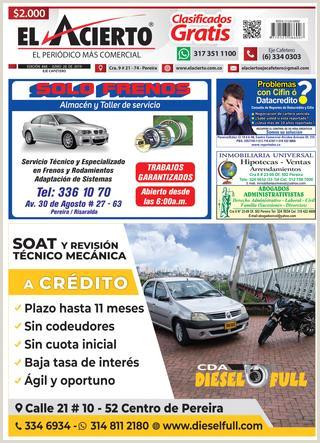 PEREIRA 848 28 junio by El Acierto issuu