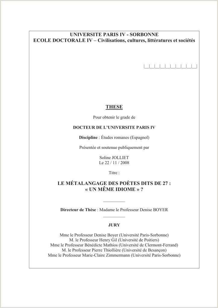 Hoja De Vida Minerva Diligenciada Universite Paris Iv Université Paris