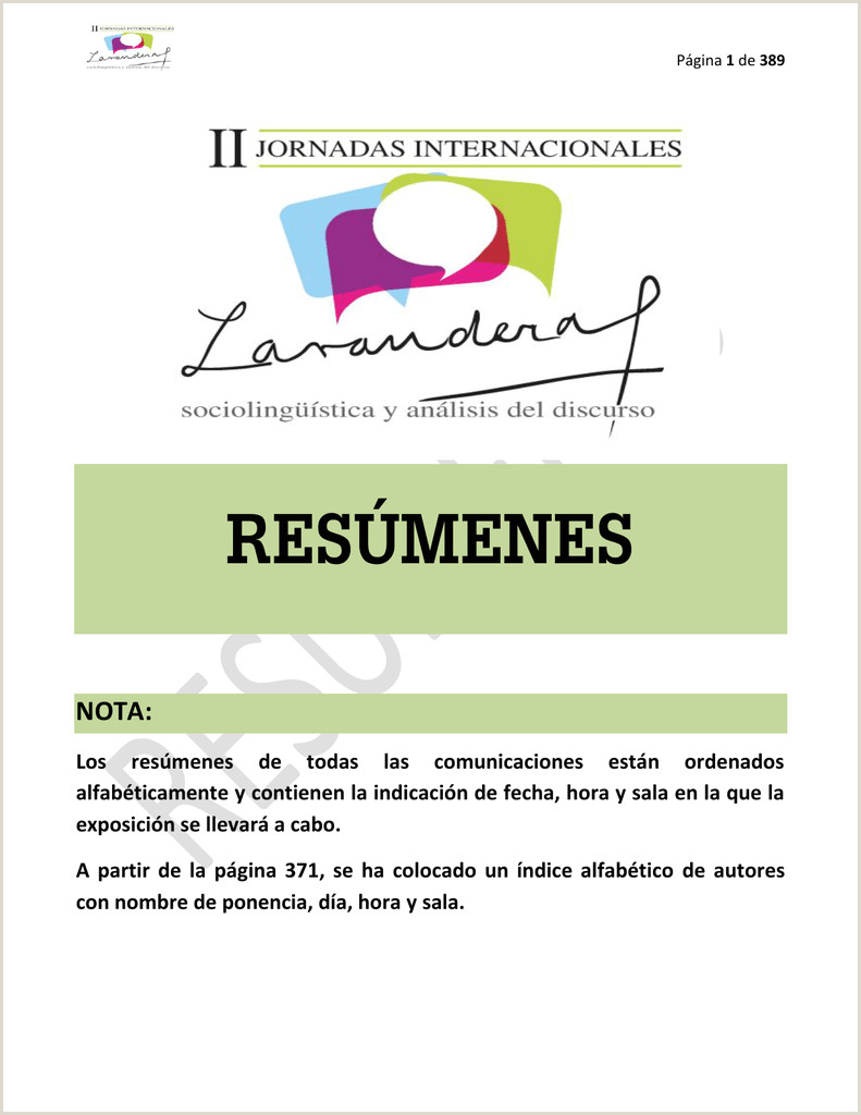 Hoja De Vida Minerva formato 1003 Libro De Resºmenes Ii Jornadas Internacionales Beatriz
