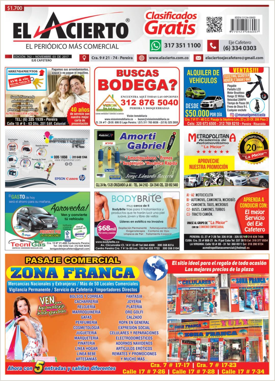Pereira 762 3 de noviembre 2017 by El Acierto issuu
