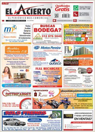Pereira 713 18 noviembre 2016 by El Acierto issuu