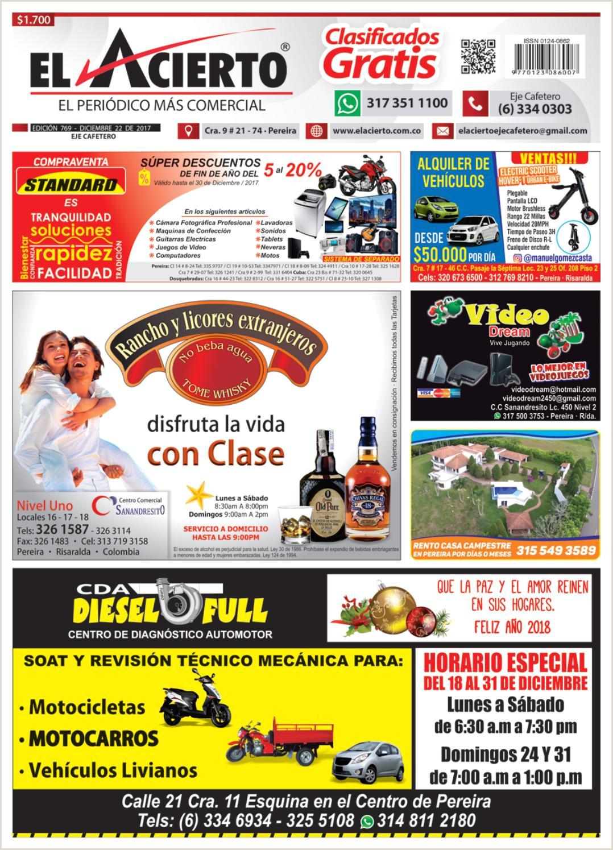 Hoja De Vida Minerva formato Unico Pereira 769 22 De Diciembre 2017 by El Acierto issuu