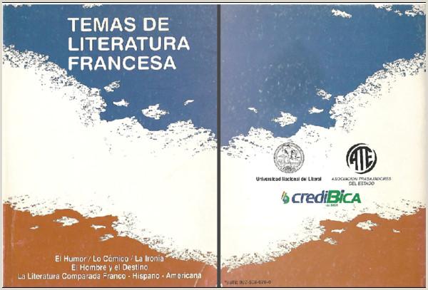 PDF Temas de Literatura Francesa