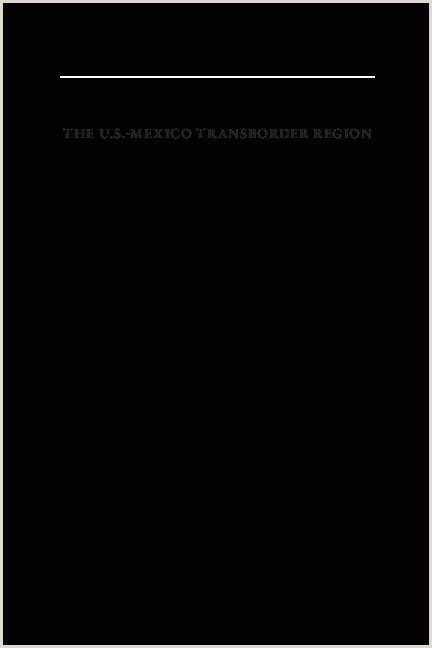 PDF The U S Mexico Transborder Region Cultural Dynamics