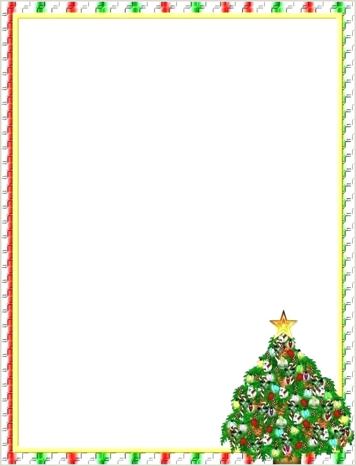 Holiday Border Images Paper Template with Border