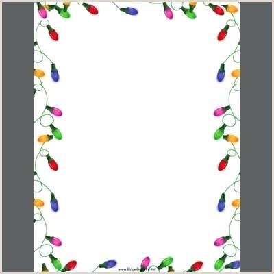5 Printable Border Template Design Paper Free Writing Christmas