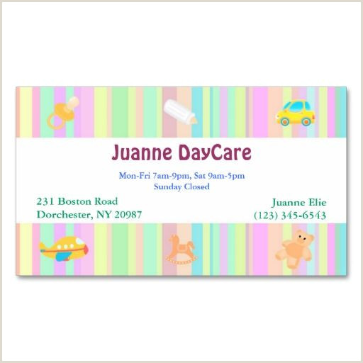 Home Daycare Business Cards Daycare Business Card Zazzle