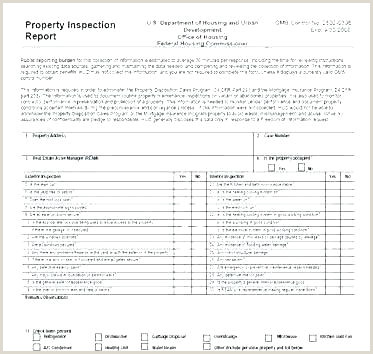 electrical inspection report template