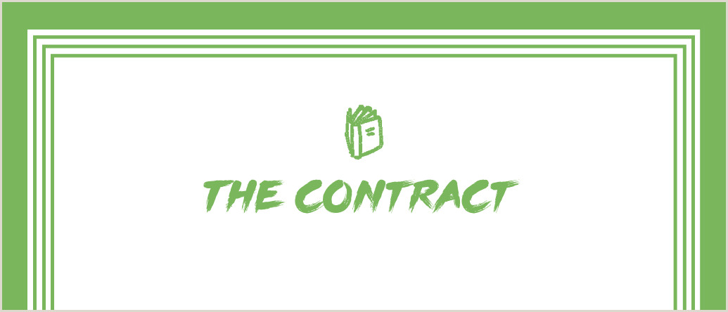 How to Write a Contract for Your Clients