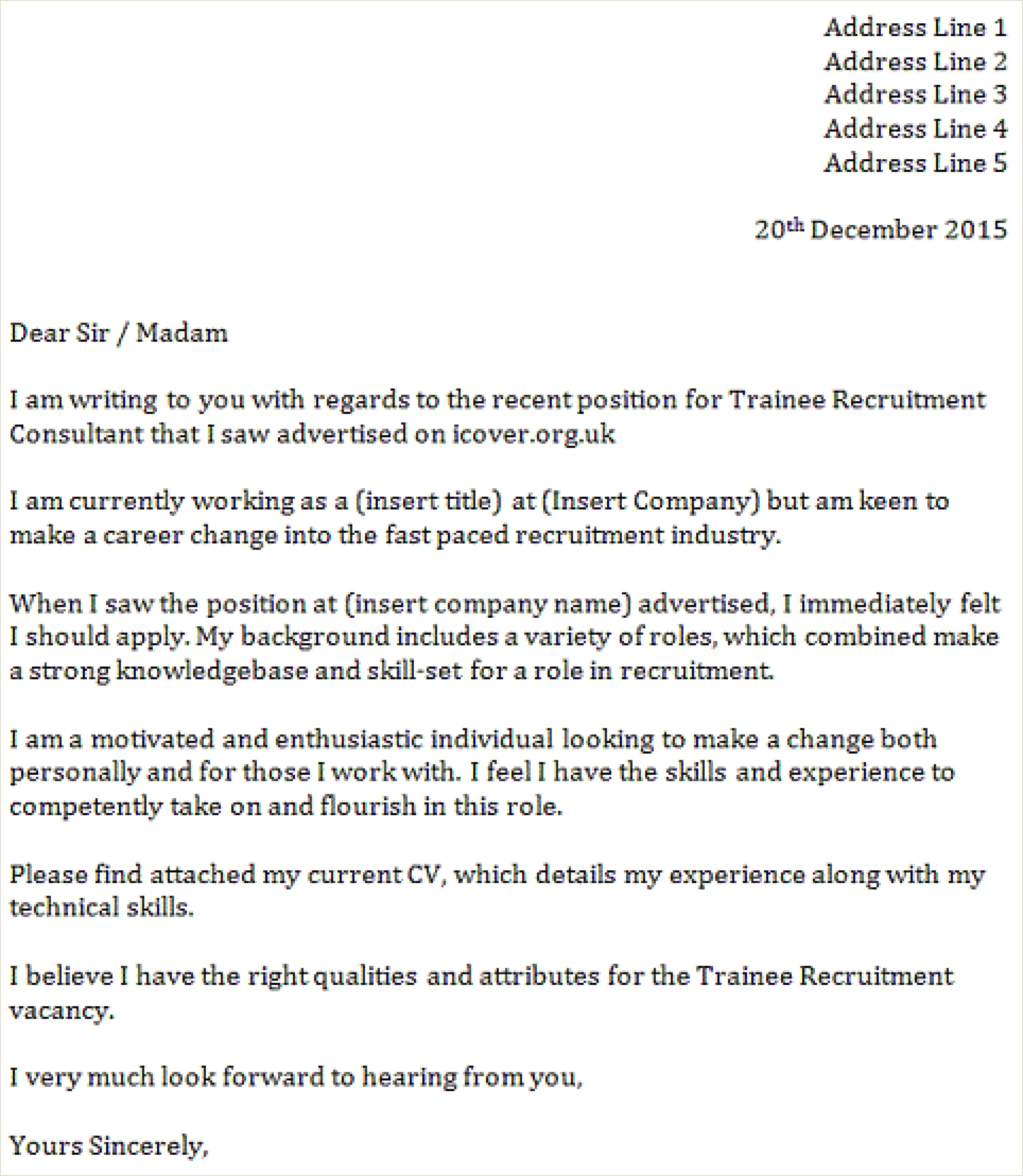 Simple Application Letter For A Job Inspirational Example A