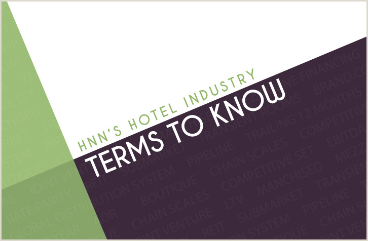 HNN Hotel Industry Terms to Know