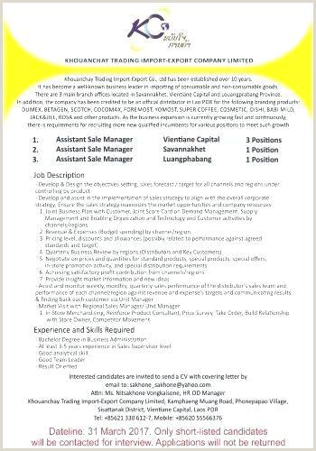 Business Prospect Letter Template Sales