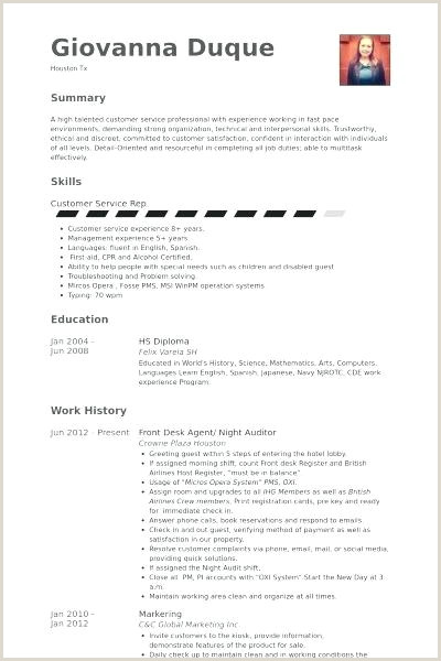 front desk agent resume sample – thrifdecorblog