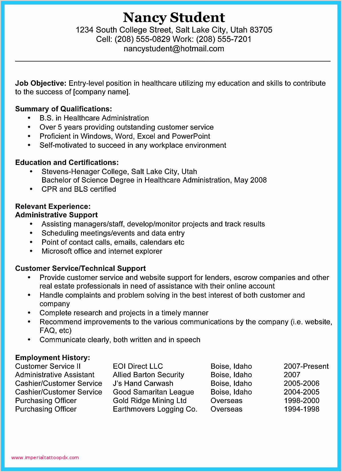 Housekeeping Resume with No Experience 25 Sample Housekeeping Resume Skills