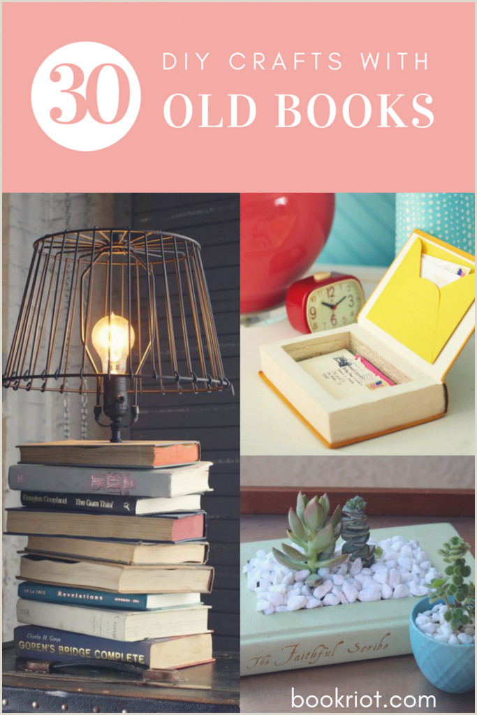 How to Cover Wooden Letters with Fabric 30 Easy to Advanced Diy Crafts with Old Books You Can Do