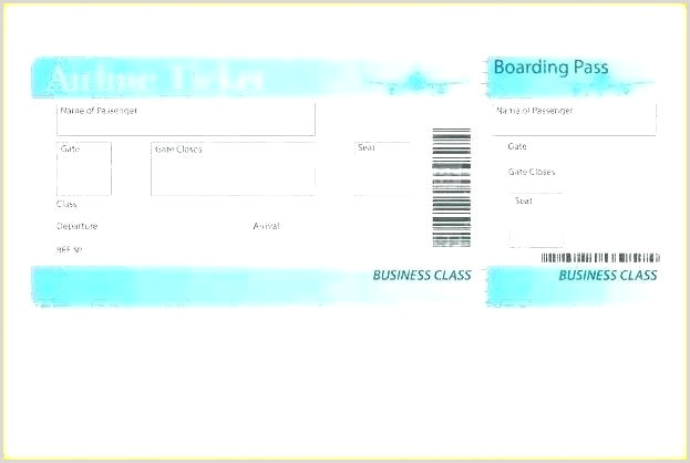 Fake Airline Ticket Boarding Pass Generator Gift