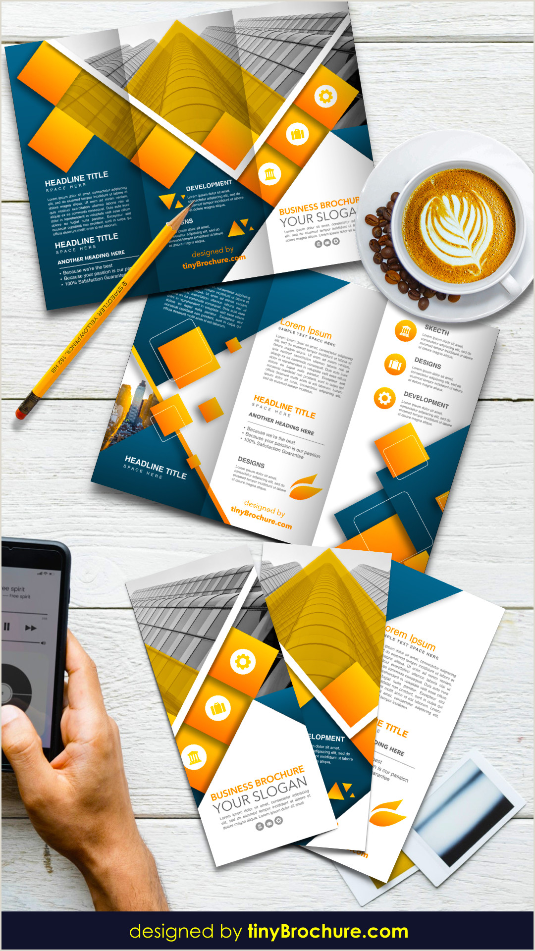 Travel Brochure Template Google Docs US letter paper size