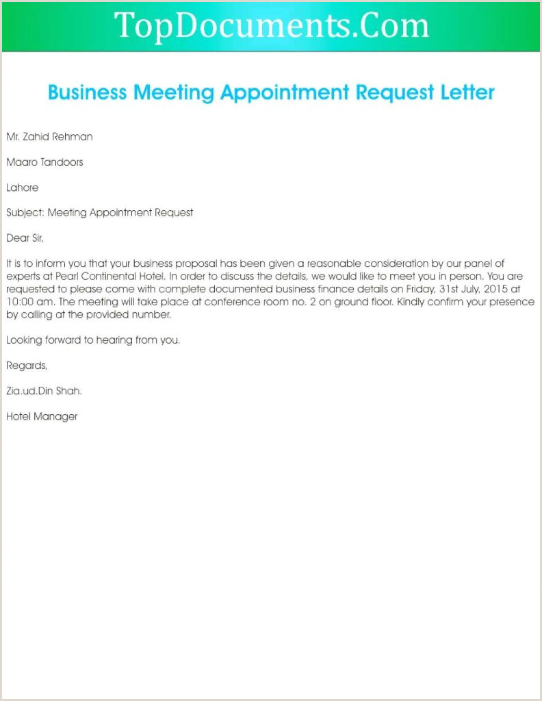 How to Write Vacation Request Letter Business Meeting Request Email Sample 650 840 Business