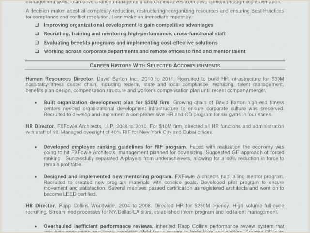 Hr Director Resume Summary Operations Manager Resume Sample Pdf New Warehouse Manager