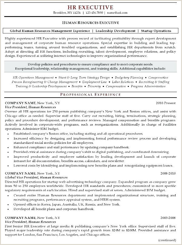 Hr Fresher Cv format Generalist Sample Resumes Hr Resume Template Hr Sample