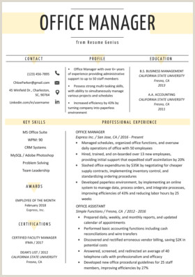 Human Resource Manager Resume Examples Human Resources Hr Resume Sample & Writing Tips