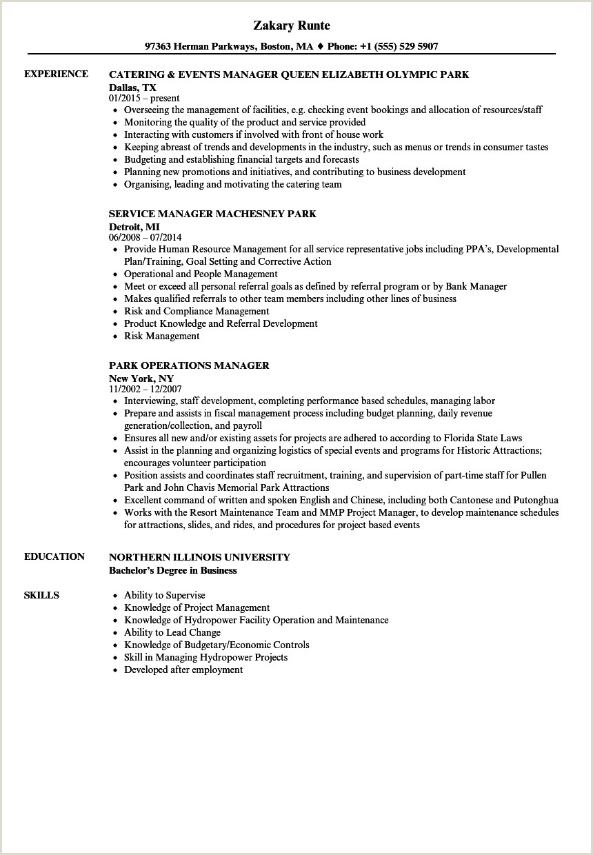 Human Resource Manager Resume Examples Location Manager Resume Training Template Templates Free