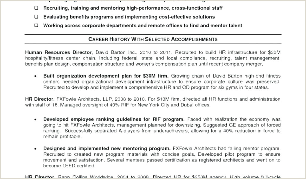 Human Resource Manager Resume Sample Human Resources Manager Resume