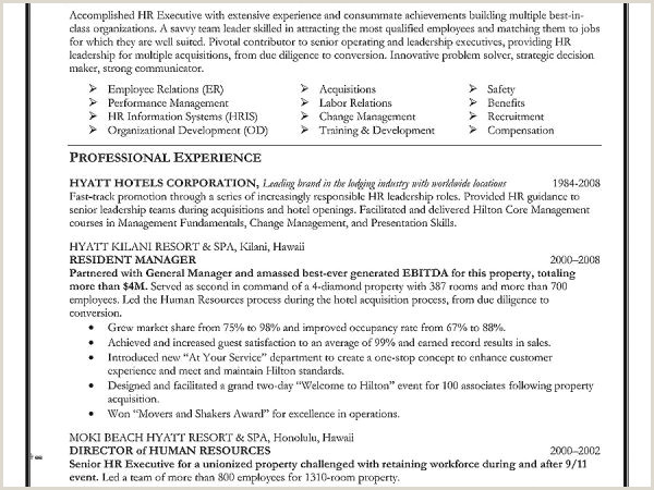 Exotic Human Resources Resume Objective Resume Design
