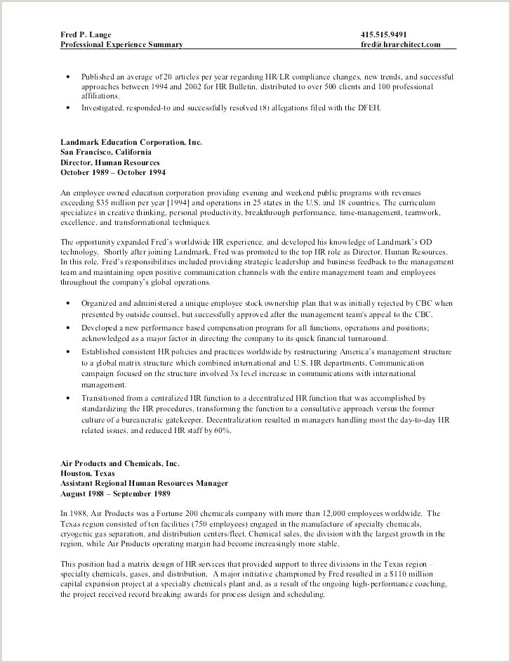 Operations Manager Resume Sample Luxury Operations Manager