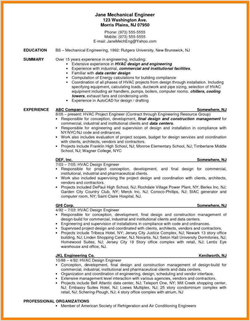 Hvac Installer Job Description For Resume Stock s HD