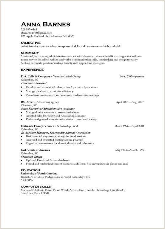 Hvac Resume Examples Profile Cv Example Student Inspirierend Resume Examples