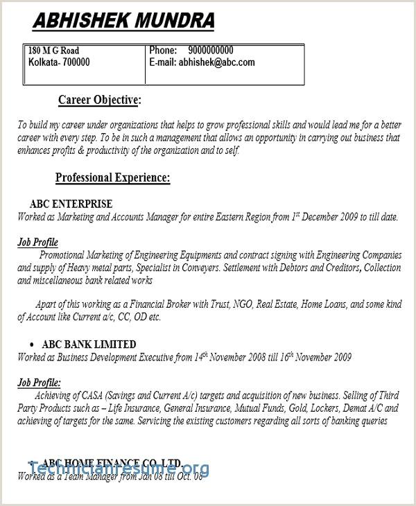 Hvac Resume Objective