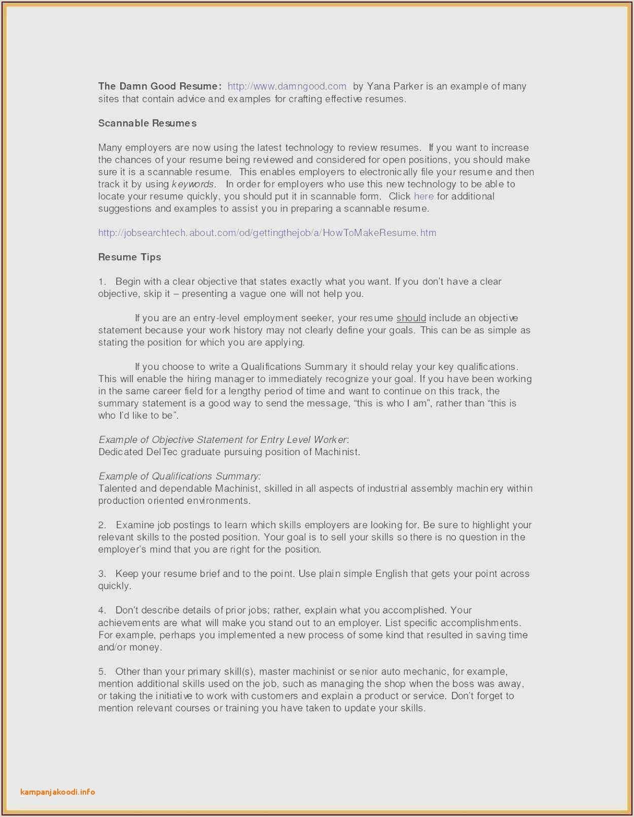 Hvac Resume Example Examples Hvac Technician Resume