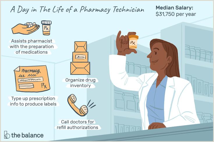 Hvac Technician Resume Pdf Pharmacy Technician Salary Skills & More