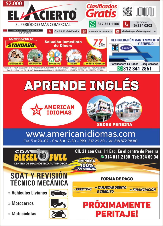 Imagenes De Hoja De Vida Minerva 1003 Pereira 797 6 De Julio 2018 By El Acierto Issuu