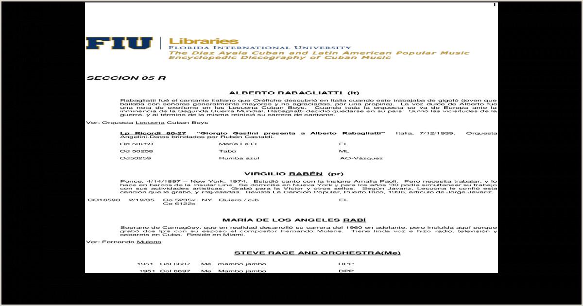 Imprimir formato Hoja De Vida Minerva 1003 Seccin R