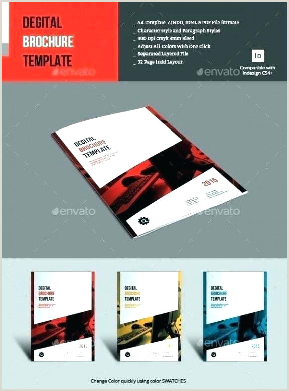Indesign Product Catalog Template 3 Page Brochure Template – Naomijorge
