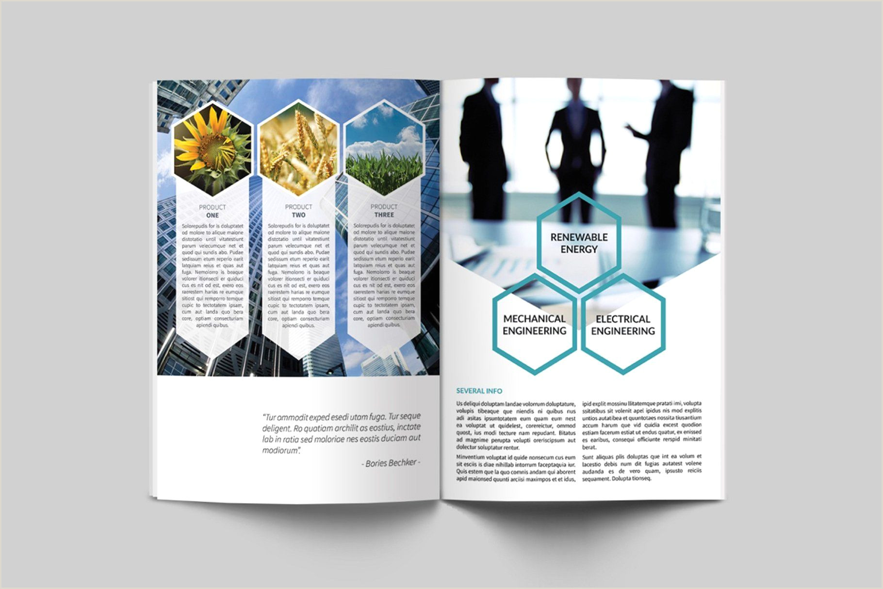 Biotechnology Brochure studio Features Adobe extended