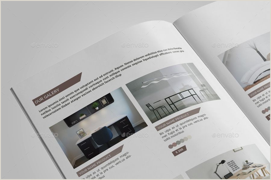 Indesign Product Catalog Template Multipurpose Catalogs Brochure Catalogs
